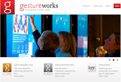 Ideum announces major updates for GestureWorks and Presenter Interactive Multi-Touch Wall Systems