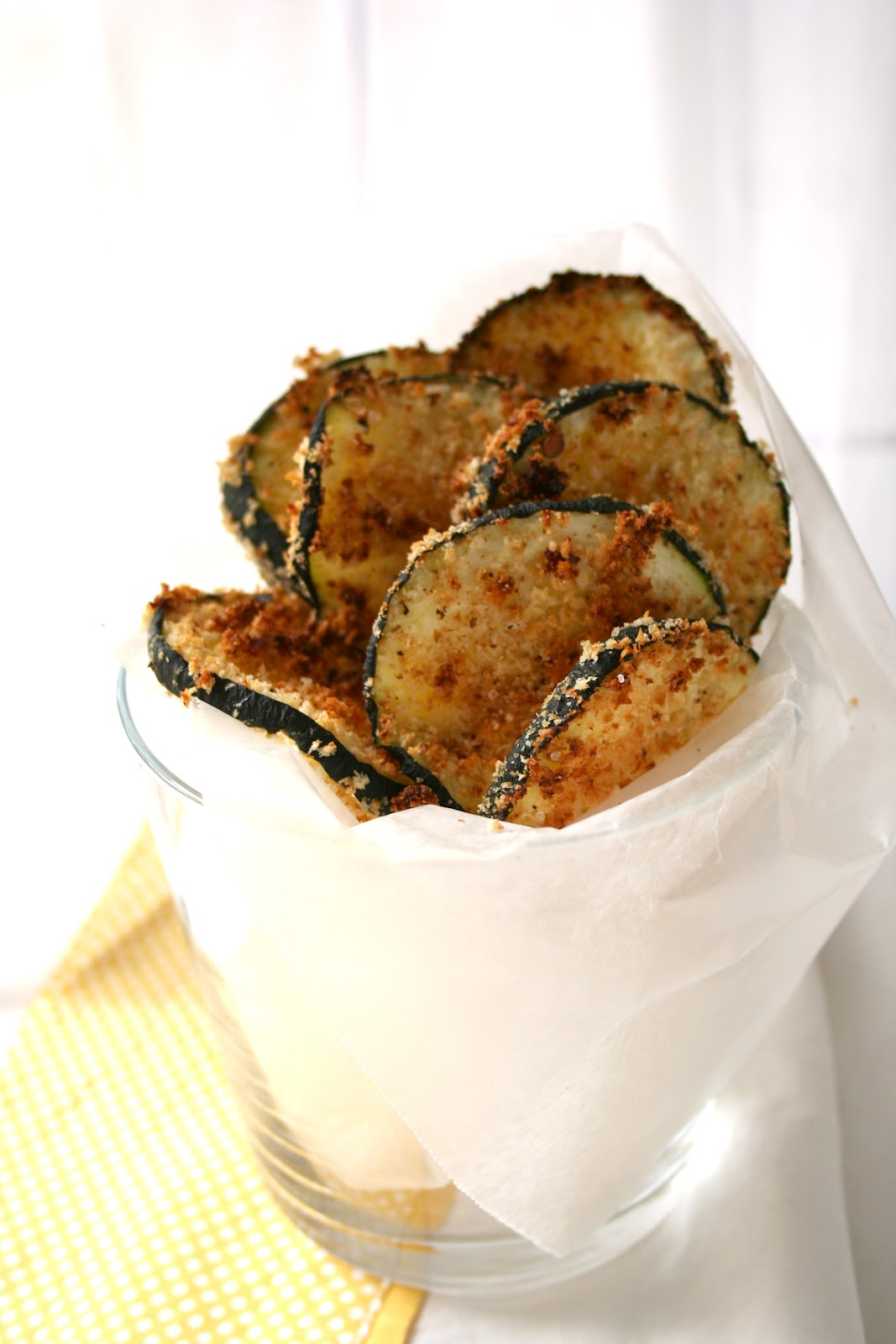... & Nutrition On A Budget: Frugal Healthy Recipe: Baked Zucchini Chips