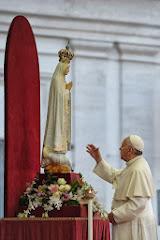 El Papa Francisco, consagró el mundo al Inmaculado Corazón de María