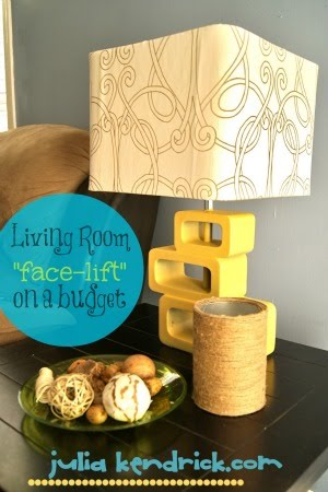 """Living Room """"Face-Lift"""" On a Budget"""