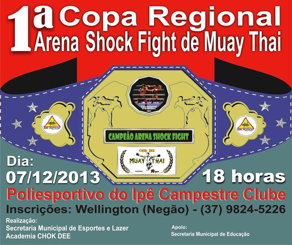 Arena Shocl Fight de Muay Thai