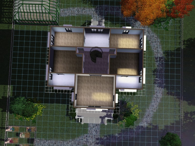 My sims 3 blog 5 bedroom 4 bath and 2 1 2 baths victorian for Sims 3 6 bedroom house