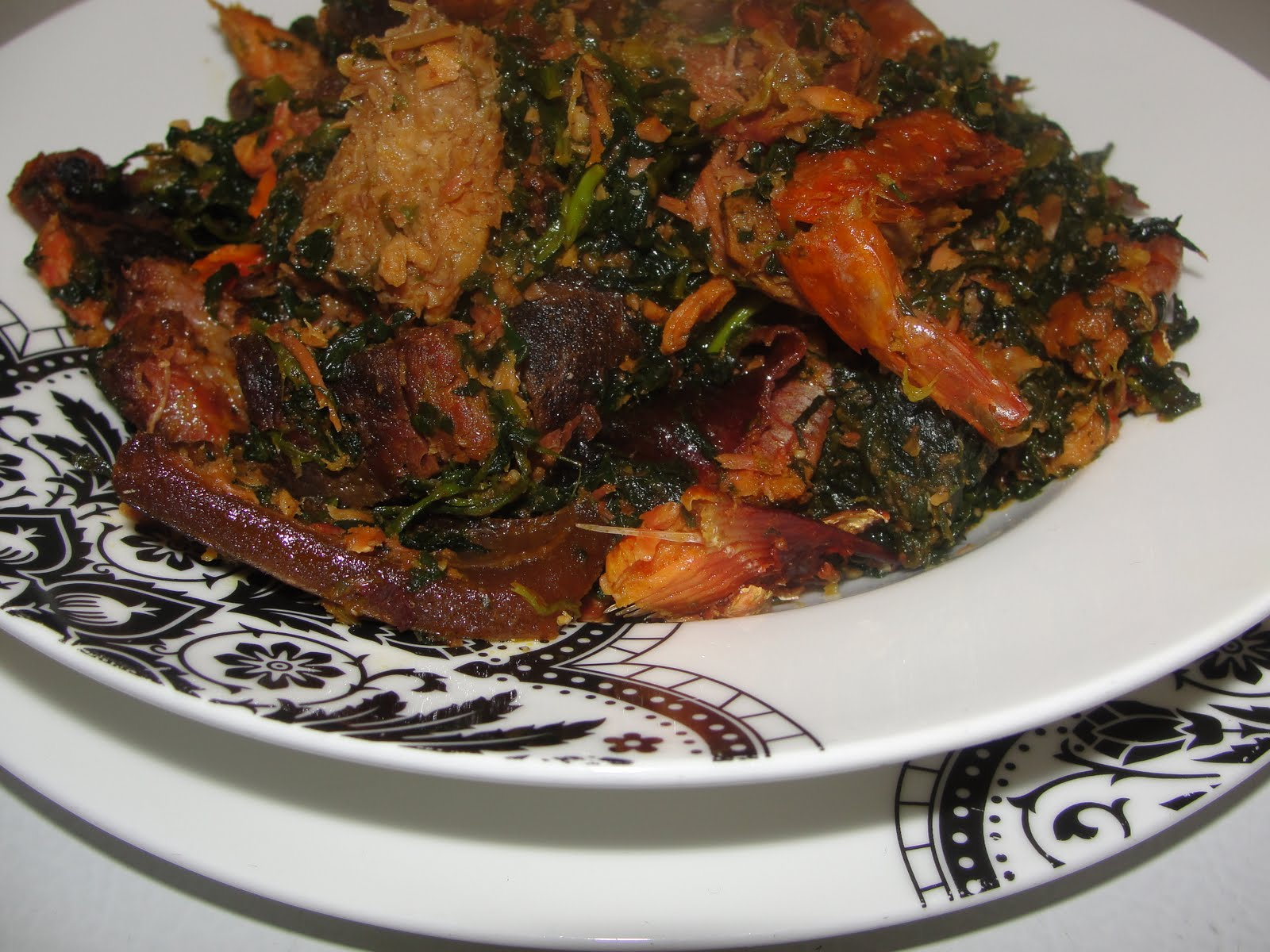 Modern african cuisine edikang ikong for African cuisine dishes