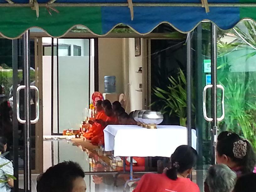 Monk Blessing Ceremonie