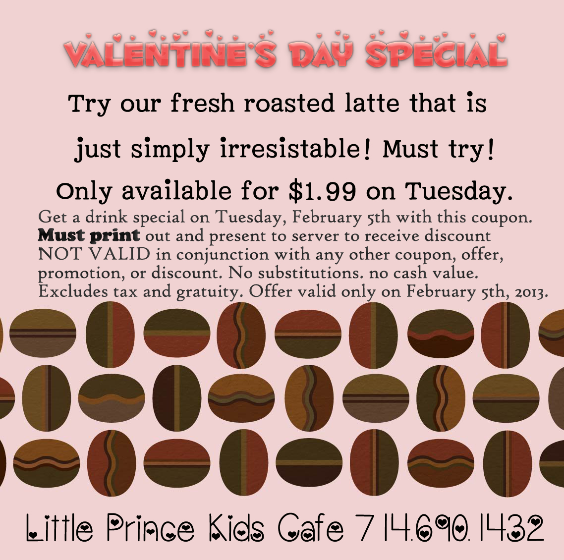 Special Week At The Little Prince Cafe