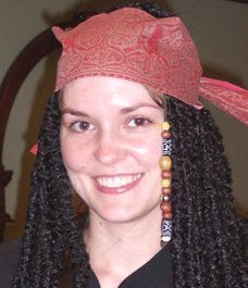 My name is Christy and sometimes I wanna be a pirate.  What, you don't?