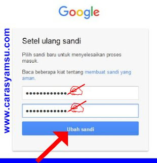 Setel Ulang Password