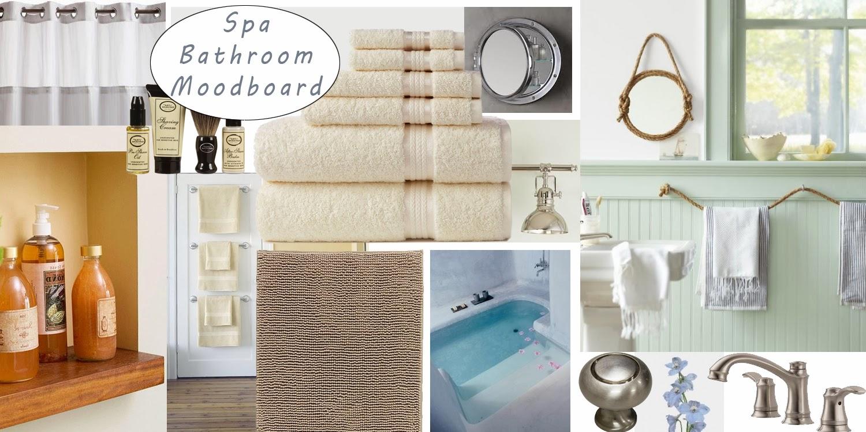 Jess The Miscellaneous Aspirational Mood Board For Spa Like Master Bathroom