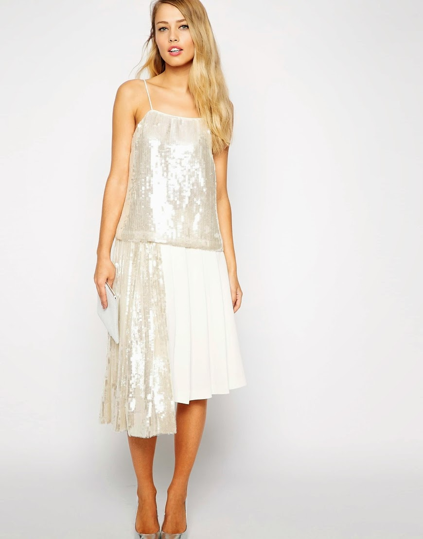 whistles sequin skirt