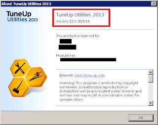 TuneUp Utilities 2013 v13.0.2020.14 Full Version + Crack Terbaru