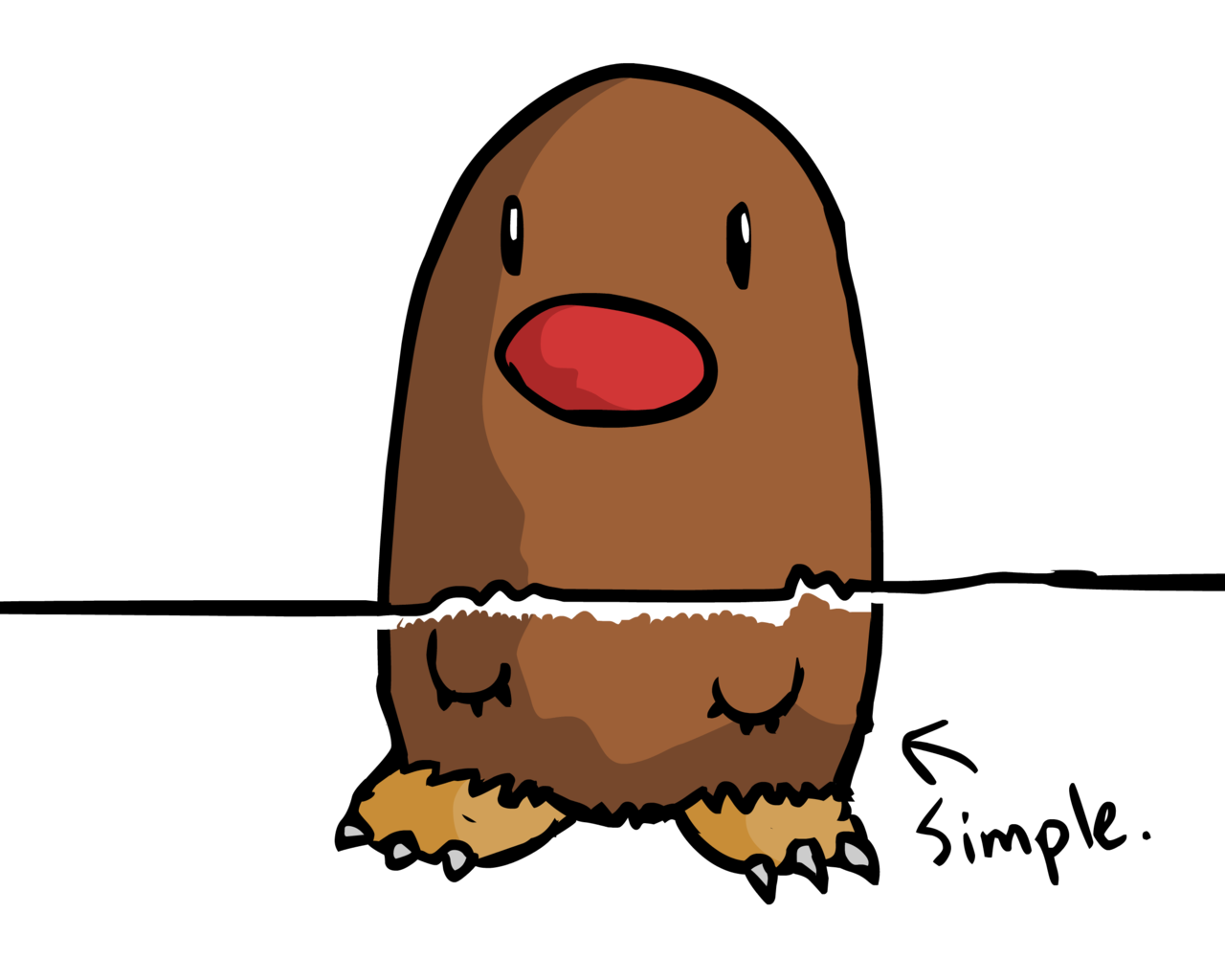 Diglett's feet theory (hear me out) : pokemonconspiracies