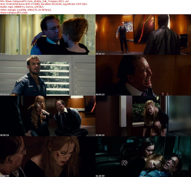Trespass 2011 [DVDRip] Subtitulos Español Latino Descargar [1 Link]