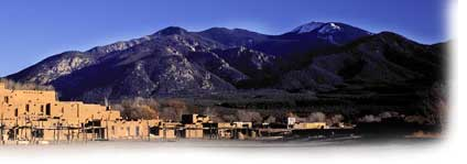 The Famous Taos Pueblo - Pyramid on the Rio Grande