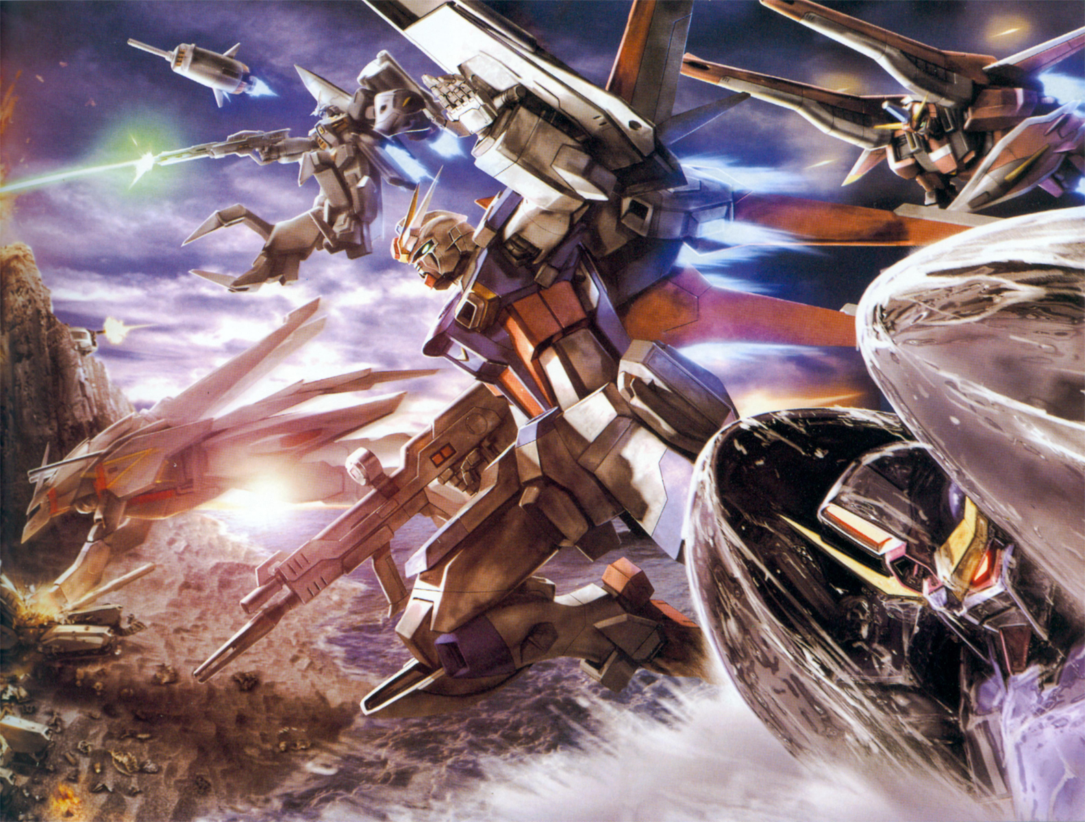 Gundam HD & Widescreen Wallpaper 0.400292272192589