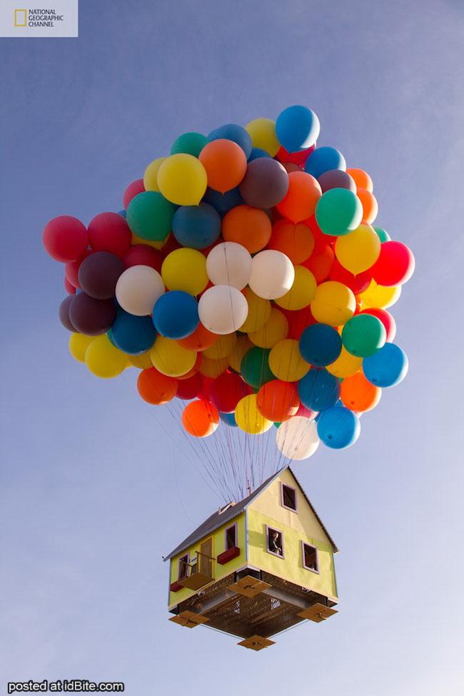 rumah terbang dengan balon film 39 up 39 menjadi kenyataan