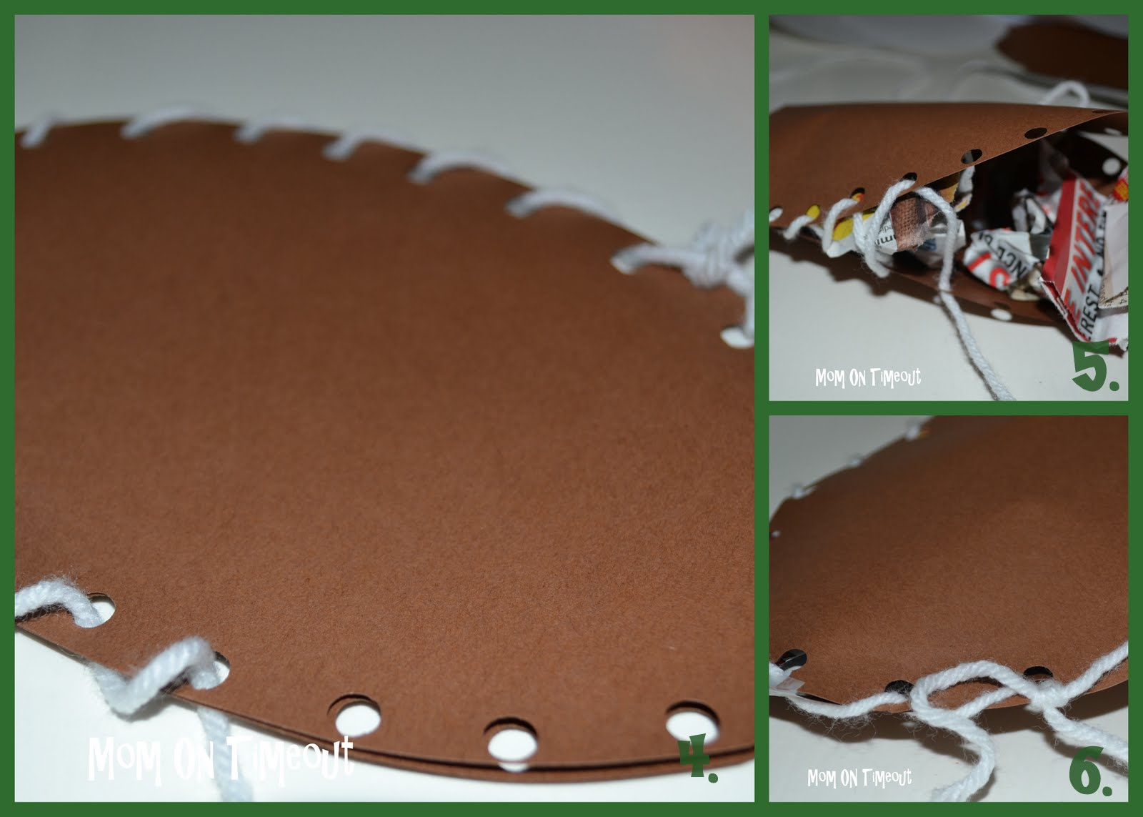 Are you ready for some football mom on timeout for Football crafts for preschoolers
