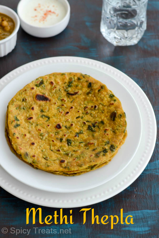 Methi Thepla Recipe | How To Make Methi Thepla | Methi Roti Recipe