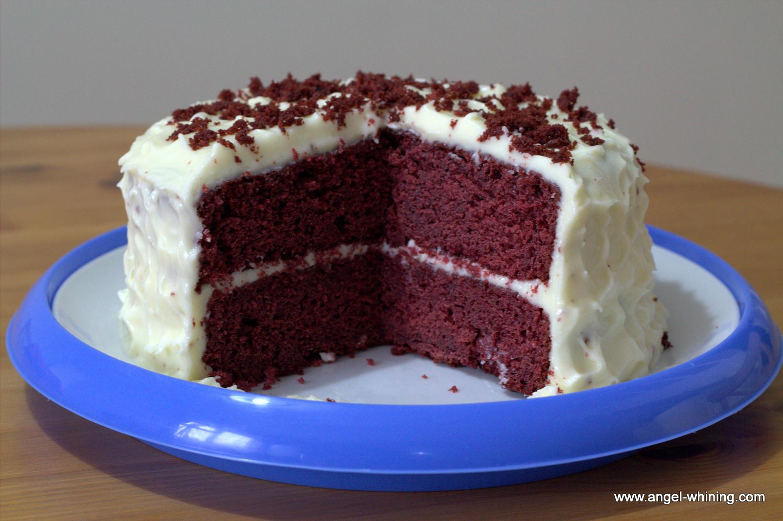 Hummingbird red velvet birthday cake recipe