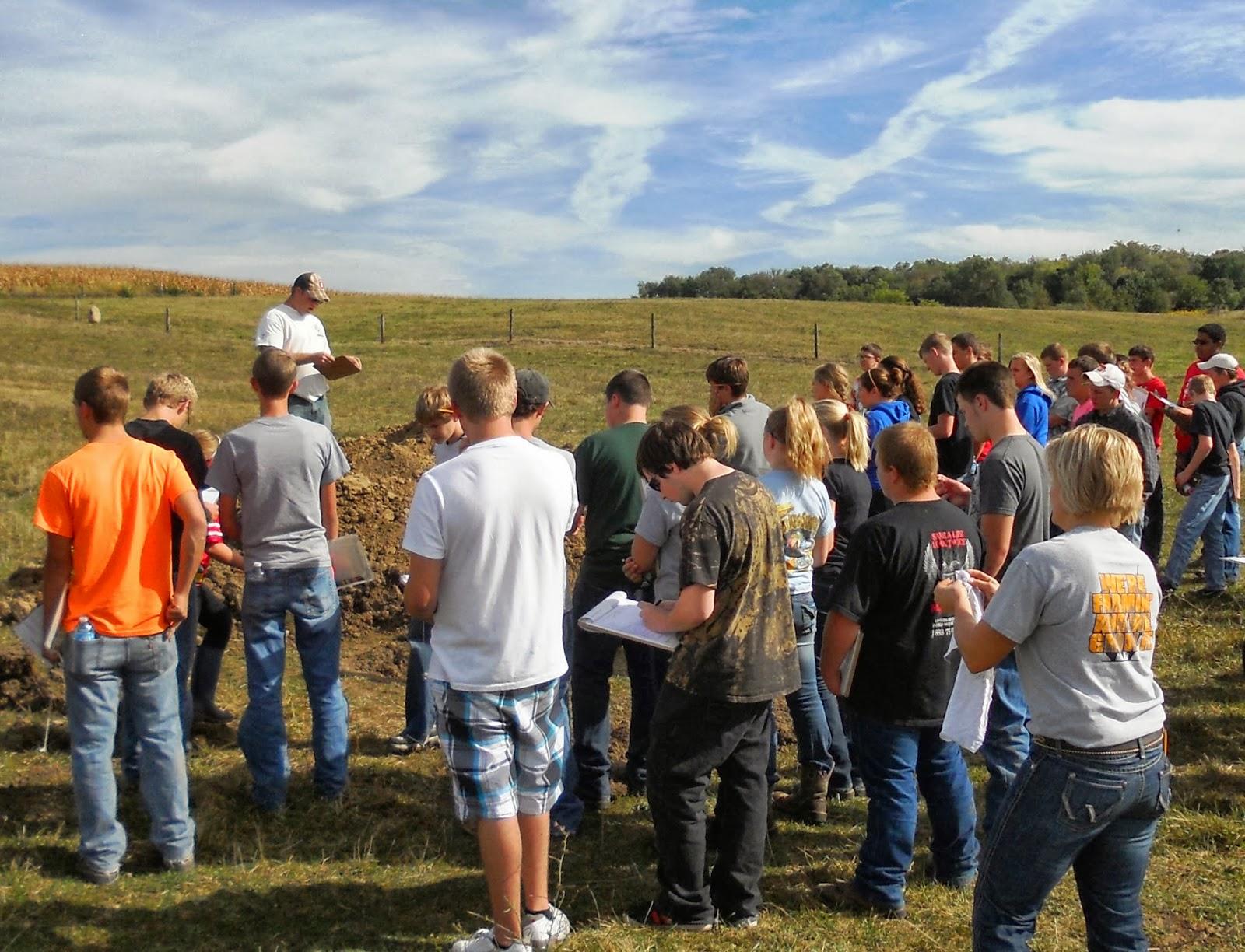 DarkeJournal.com: County FFA Land Judging Contest Held in Harrison ...