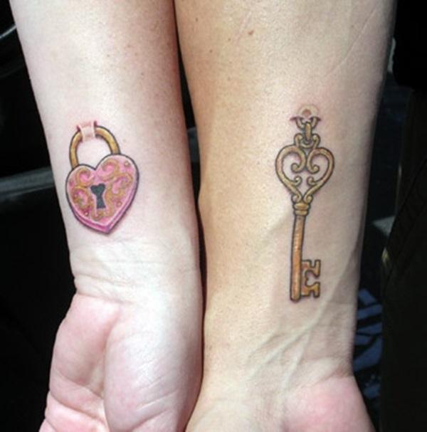 33 tatuagens simplistas para casais
