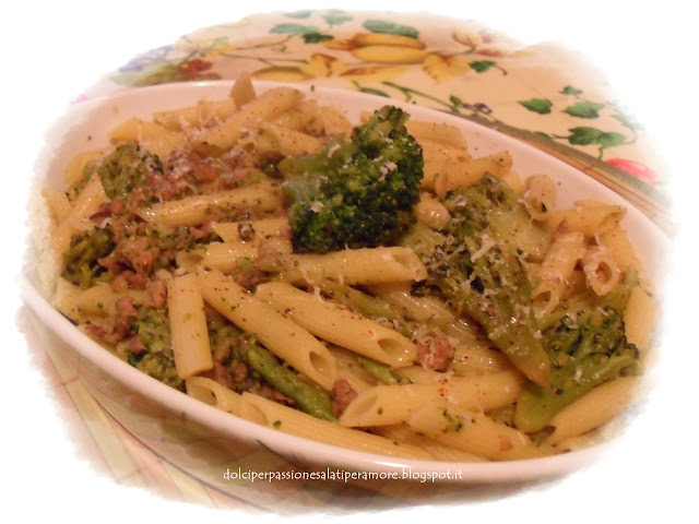 Leaving-Home Penne Rigate With Broccoli Recipe — Dishmaps