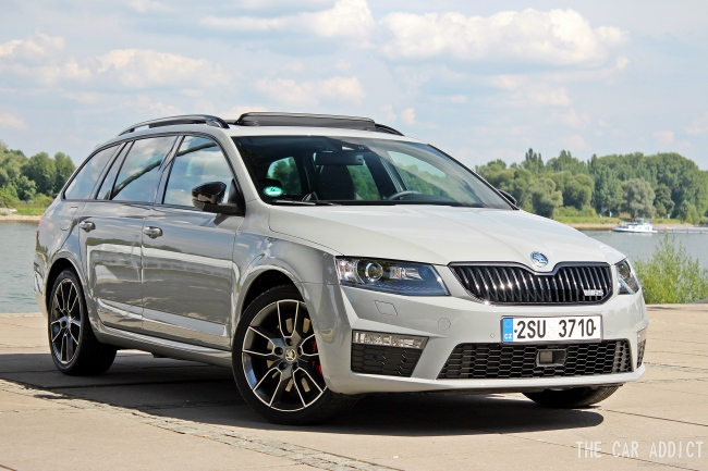 gallery skoda octavia rs combi 2013 steel grey rusdi. Black Bedroom Furniture Sets. Home Design Ideas