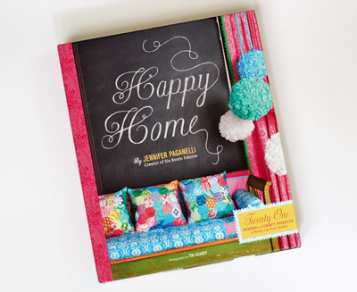 Sewing Book Happy Home How About Orange