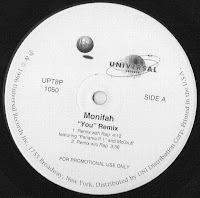 Cover Album of Monifah - You (Remix) Promo VLS 1996