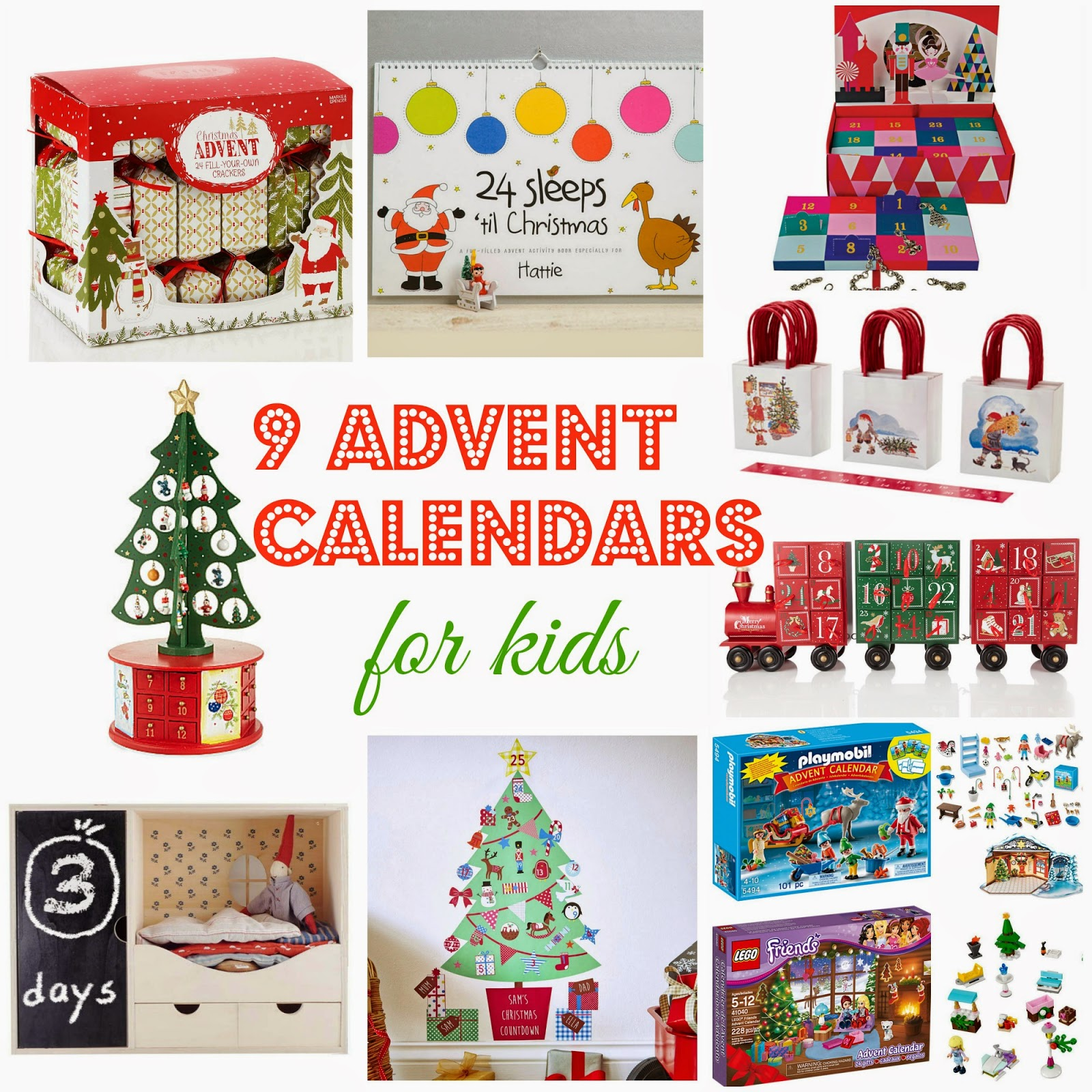 9 kids advent calendars … and not a chocolate in sight! | kids advent calendars | marks and spencer | mailed | not on the hughstreet | argos | lego |playmobil | keri keri | nutcracker | best kids advent calendars 2014 | kids christmas | christmas advent calendars | christmas for kids | mamasVIB | 9 of the best calendars for kids | christmas ideas | slefirdges | ikea | cheap advent calendars | expensive advent calendars | unusual advent calendars | kids advent | christmas calendars | mamsVIb | shopping ideas | bonita turner fashion editor |