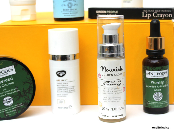 onelittlevice beauty blog: organic beauty week