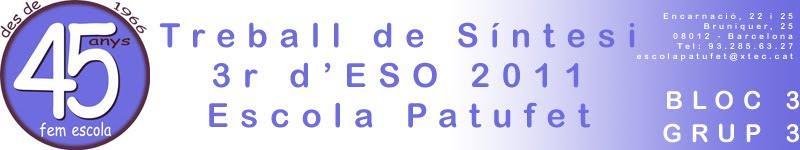TS 3r d'ESO 1011 Bloc 3 - Grup 3