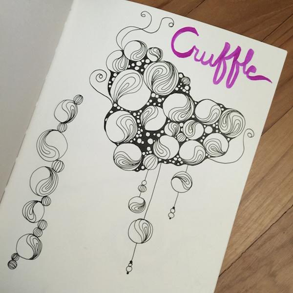 cruffle zentangle,
