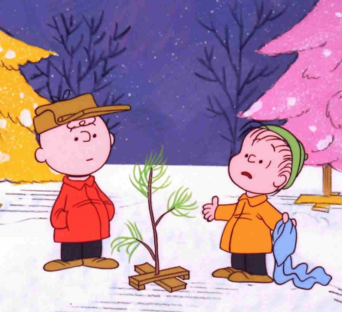 The fine art diner christian symbols in a charlie brown christmas what do the aluminum trees symbolize the unnatural specifically hearts that are hardened and unnatural the heart that puts on christmas joy and cheer biocorpaavc Images
