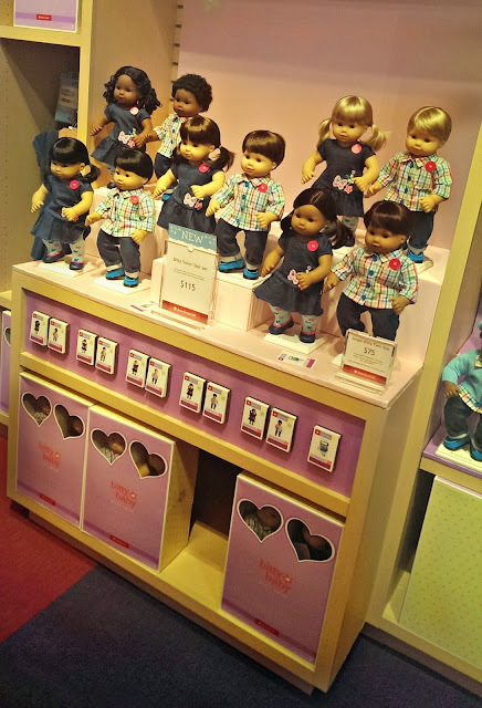 American Girl San Francisco Bitty Twins