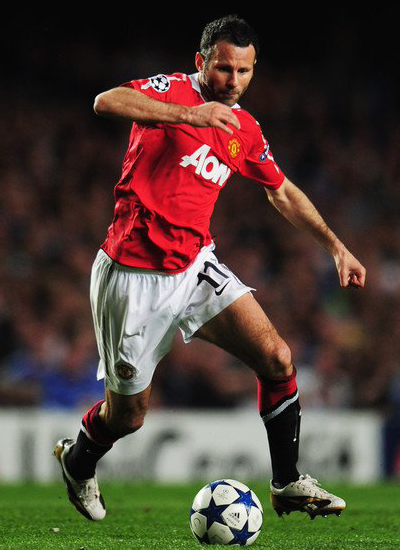 Man Utd champions league quarter finals ryan giggs