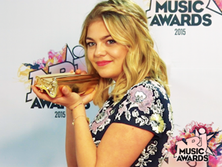 Europecrazy nrj music awards 2015 for Louane emera chambre 12
