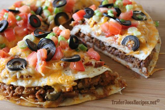 YUMMY RECIPEZZ: Mexican Pizza Recipe