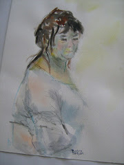 Akvarellmålning!