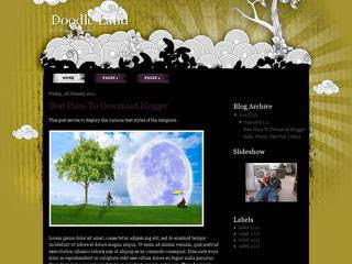Doodle Land Blogger Template