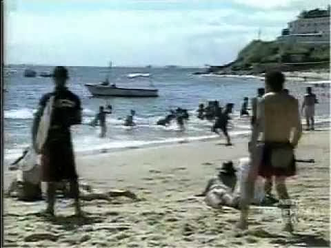 Trollando uma praia inteira