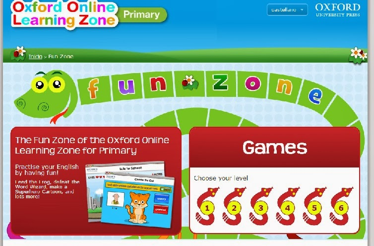 Oxford On line Learning Zone