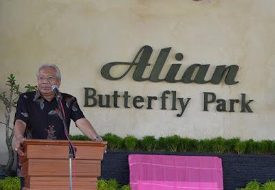 Berkenalan dengan Bambang Gunawan, Dokter Spesialis Penggagas Alian Butterfly Park