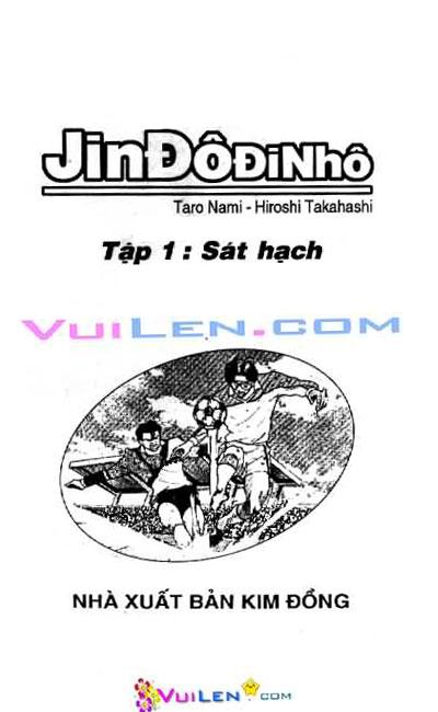 Jindodinho - Đường Dẫn Đến Khung Thành III  Tập 1 page 1 Congtruyen24h
