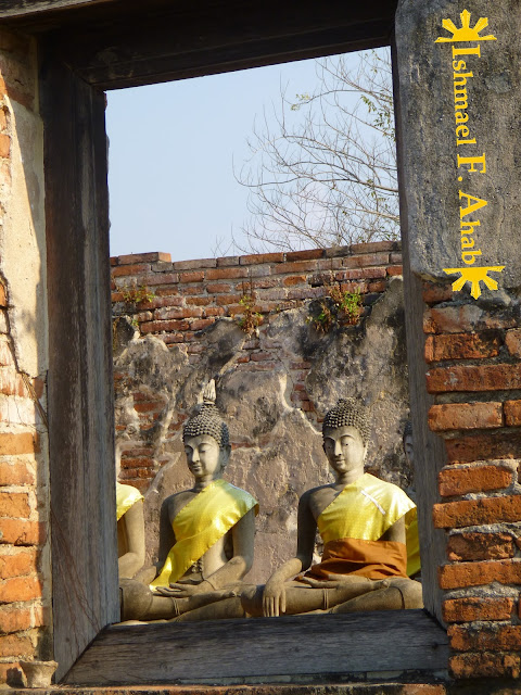 Buddha statues in Ayutthaya Historical Park