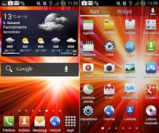 Touchwiz UX launcher