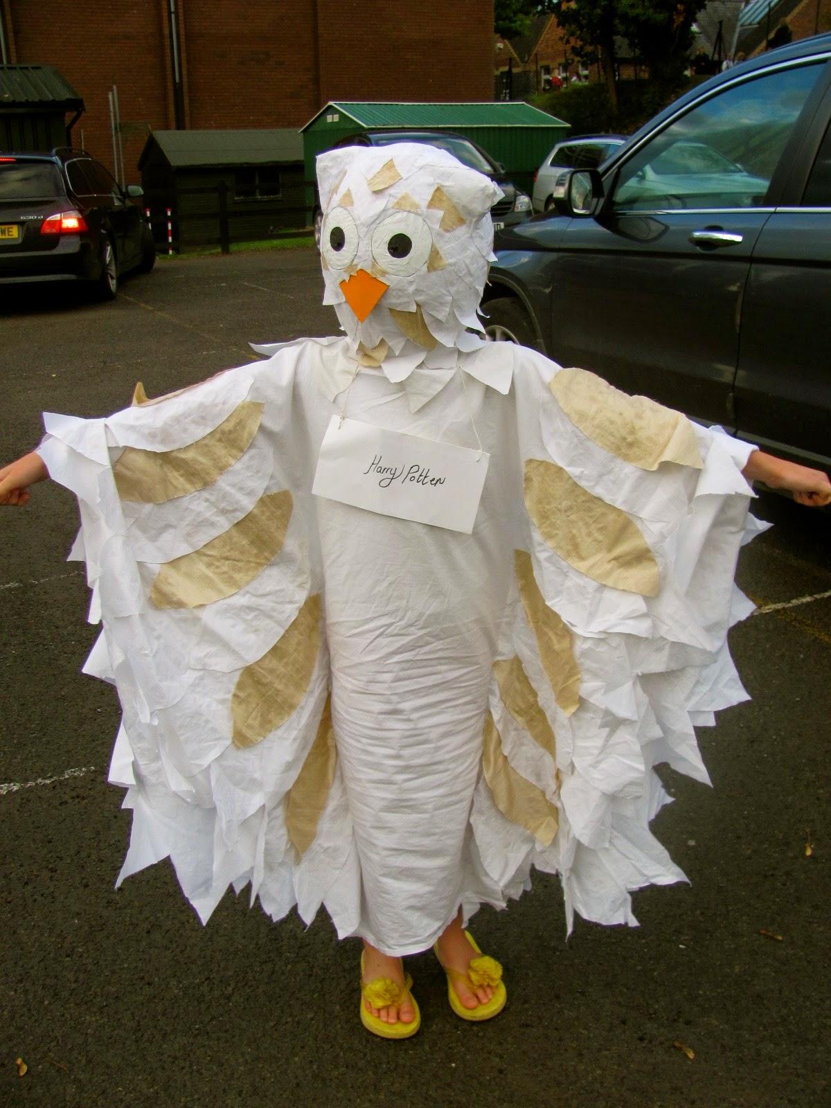 Snowy Owl Halloween Costume