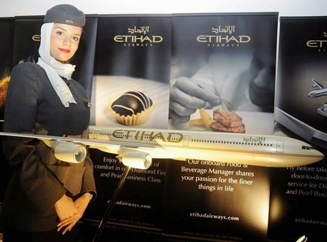 04UnitedArabEmirates252CEthiadAirlinesAirHostess - Air Hostess From Different Countries