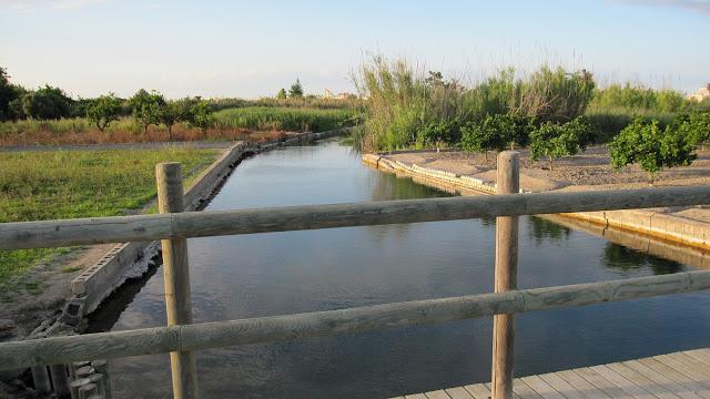 Pont de l'ullal marjal de Gandia