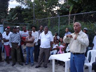 Gamalier Montás juramenta comando de campaña de Danilo en Jamey