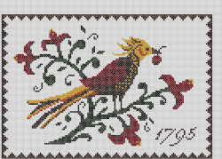 Fraktur Pheasant 1795